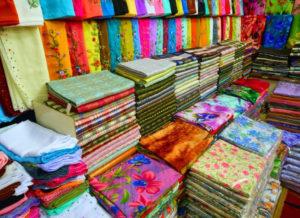Ткани на рынке Садовод