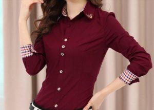 Блузки-рубашки на рынке Садовод