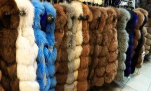 Меховые жилетки на Садоводе