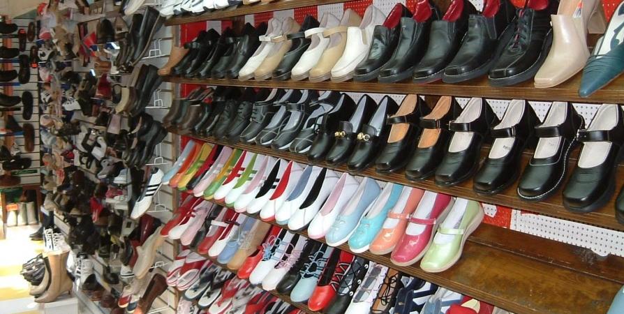 Обувь на рынке Садовод