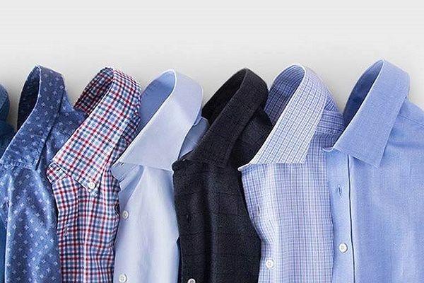 Рубашки на рынке Садовод