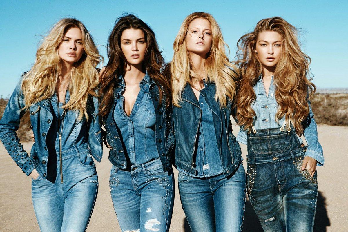 Женская, мужская и детская джинсовая одежда