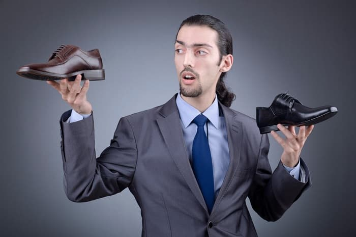 Обувь мужская на рынке Садовод