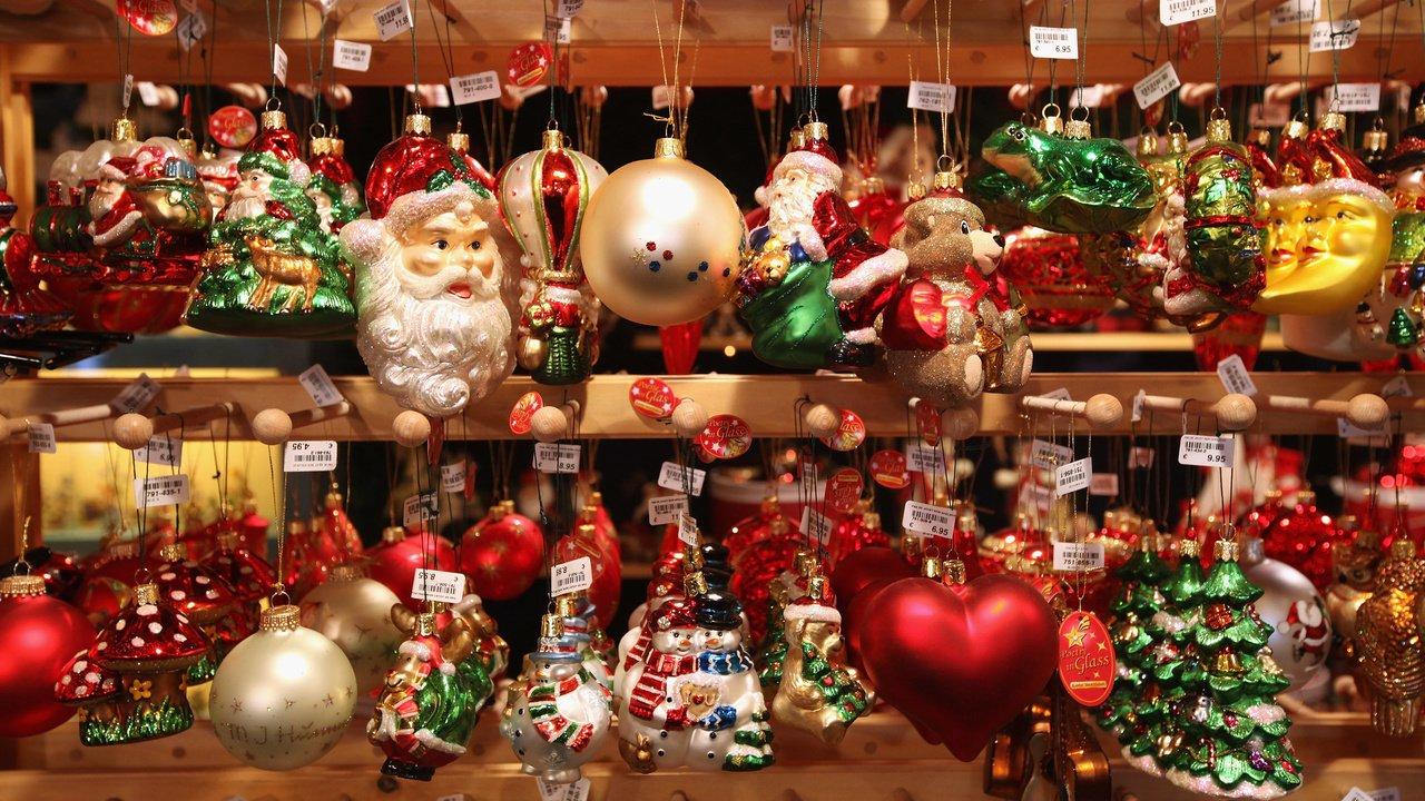 Новогодние игрушки на Садоводе